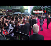 Angelina Jolie and Brad Pitt at World War Z German Film Premiere