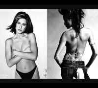 Angelina Jolie and Jennifer Aniston  VS.wmv