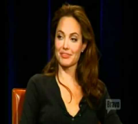 Angelina Jolie Inside the actors studio part 4