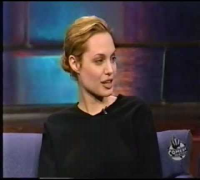 Angelina jolie loves spock - interview 1999