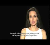 Angelina Jolie - Mensaje por el Día Mundial del Refugiado 2011