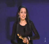 Angelina Jolie winning Best Supporting Actress