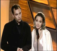 Angelina Jolie Wins Best Supporting Actress Motion Picture - Golden Globes 2000