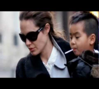Angelina Jolie with her son Maddox - My boy