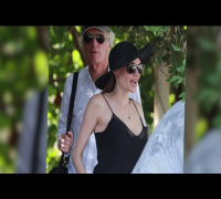 Angelina Jolie Wows in Low Cut Camisole in Hawaii After Mastectomy