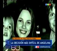 Angelina Jolie y su conmovedora declaración - Telefe Noticias
