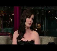 Anne Hathaway - David Letterman (The Devil Wears Prada)