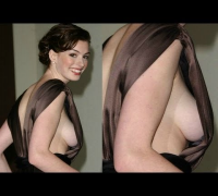 Anne Hathaway Flashes Sideboob