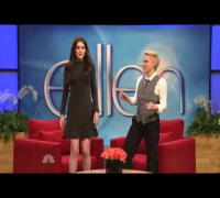 Anne Hathaway impersonating Katie Holmes - Saturday Night Live part 1/3