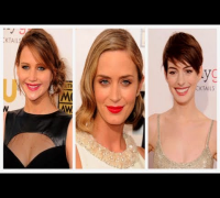 Anne Hathaway, Jennifer Lawrence, and Emily Blunt Lead the Best-Dressed Pack at the CCAs!