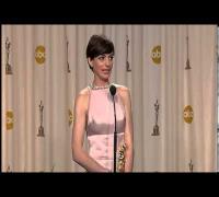 Anne Hathaway- Oscars 2013 Speech