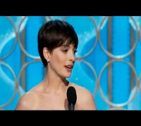 Anne Hathaway wins Golden Globe