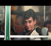 Artistic New Audrey Hepburn Galaxy Chocolate Commercial