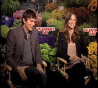 Ashton Kutcher and Jennifer Garner Valentine's Day interview