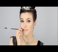 Audrey Hepburn - Breakfast at Tiffany's Inspired Make-up