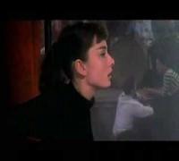 "Audrey Hepburn in ""back in black"""