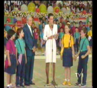Audrey Hepburn on Children's Festival 23.04.1988 in Turkey