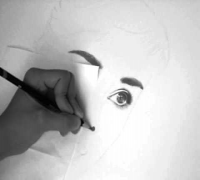 Audrey Hepburn (speed drawing)
