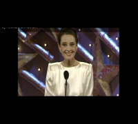 Audrey Hepburn Wins Cecil B. Demille Award - Golden Globes 1990