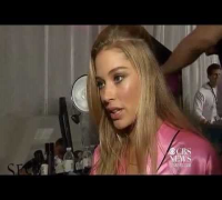 Backstage at 2012 Victoria's Secret Fashion Show