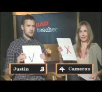 Bad Teacher - Entrevista a Justin Timberlake y Cameron Díaz
