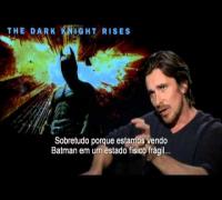 Batman - O Cavaleiro das Trevas Ressurge: Entrevista com Christian Bale (legendado)
