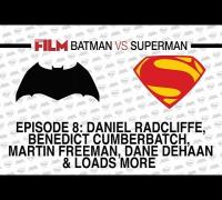 Batman vs Superman: Benedict Cumberbatch, Daniel Radcliffe, Evangeline Lilly, Orlando Bloom