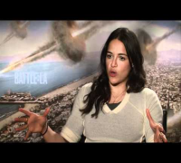 'Battle: Los Angeles' Interview with Michelle Rodriguez