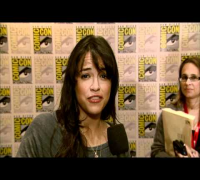 Battle Los Angeles - Michelle Rodriguez Interview - Comic Con 2010 [HD] : Dread Central
