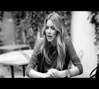 behind the scenes -  Doutzen Kroes for Vogue Spain September 2013