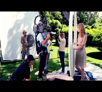 Behind the Scenes: Revlon Nearly Naked Makeup with Emma Stone