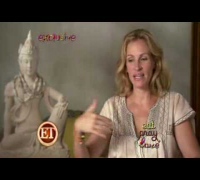 Behind the Scenes with Julia Roberts for Eat Pray Love