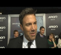 Ben Affleck and wife Jennifer Garner at 'Argo' premiere