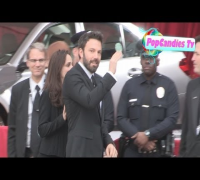 Ben Affleck & Jennifer Garner arrive at SAG Awards in The Shrine Auditorium in LA