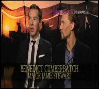 Benedict Cumberbatch and Tom Hiddleston - War Horse Press Junket #5