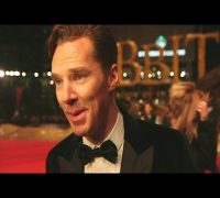 Benedict Cumberbatch at Hobbit premiere: Actor talks taking on the dragon