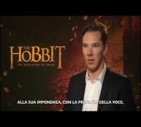 Benedict Cumberbatch ci parla di Smaug nello Hobbit: la Desolazione di Smaug