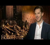 Benedict Cumberbatch describes playing the bad guy for The Hobbit: The Desolation of Smaug