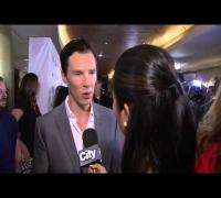 Benedict Cumberbatch discusses '12 Years a Slave' at TIFF