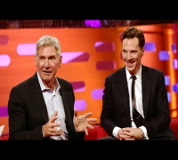 BENEDICT CUMBERBATCH, HARRISON FORD & the New Star Wars movie - The Graham Norton Show BBC AMERICA