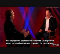 Benedict Cumberbatch - Interview and Benedict sings