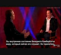 Benedict Cumberbatch - Interview and Benedict sings