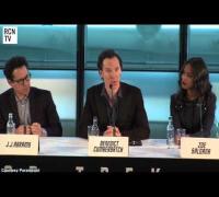 Benedict Cumberbatch Interview Star Trek Into Darkness Premiere