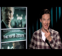 Benedict Cumberbatch Interview: THE FIFTH ESTATE
