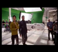 Benedict Cumberbatch is pranked on set of Star Trek into Darkness