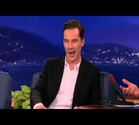Benedict Cumberbatch on Conan - 11 Dec 2013