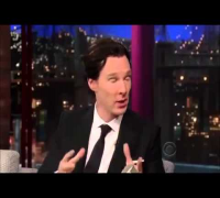 Benedict Cumberbatch on David Letterman Full Interview