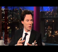 Benedict Cumberbatch on David Letterman May 9, 2013 Full Interview