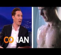 "Benedict Cumberbatch On His Steamy Cut ""Star Trek"" Scene"