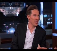 Benedict Cumberbatch on Jimmy Kimmel Live PART 1